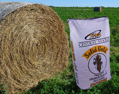 Hay Roll and Grain